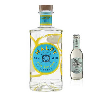 Italian Malfy Lemon Gin & Tonic Gift Package