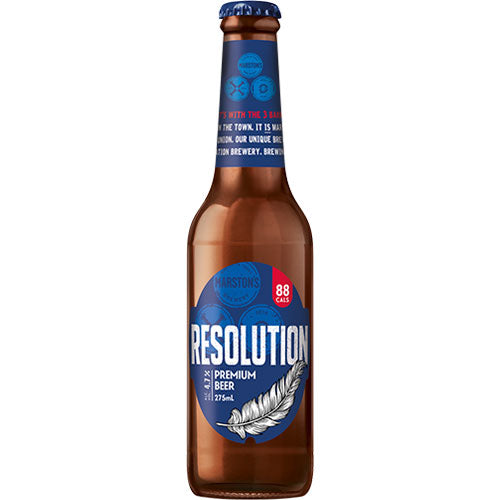 Marston's Resolution Premium Low Carb Beer 24 x 275ml