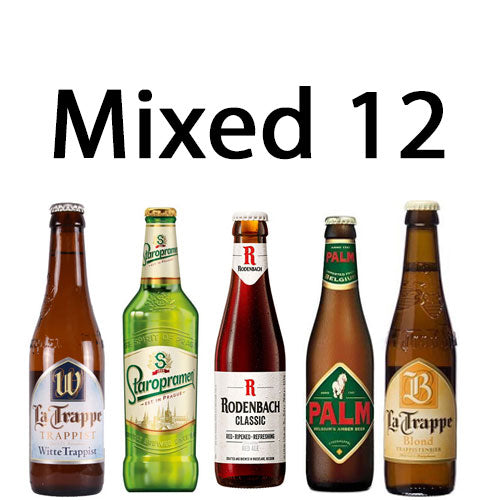 Mixed Case of 12 Speciality Craft Beers