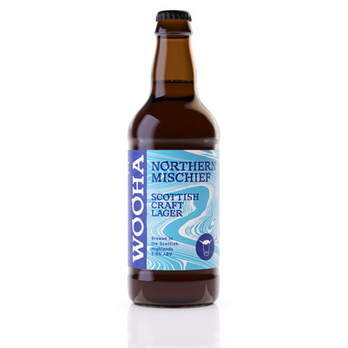WooHa Northern Mischief Craft Lager 12 x 500ml