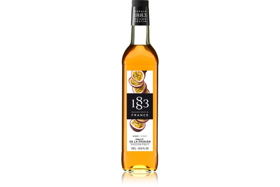 1883 Routin Passion Fruit Cocktail & Milkshake Syrup 70cl