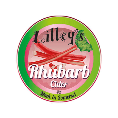 Lilley's Rhubarb Cider 5 litre Box