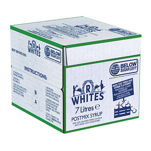 R Whites Lemonade Bag-in-Box 7L.