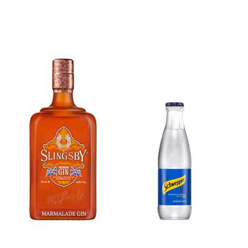 Slinsgby Marmalade Gin & Lemonade Gift Package