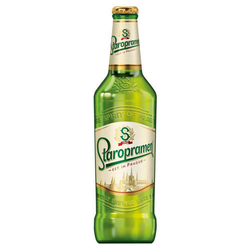 Staropramen Czech Pilsner 330ml (Individual or 12 Pack)