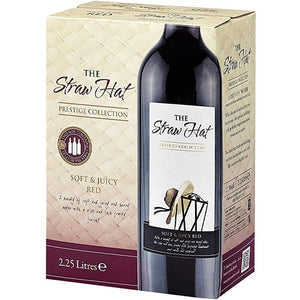The Straw Hat Red Wine Box 2.25l