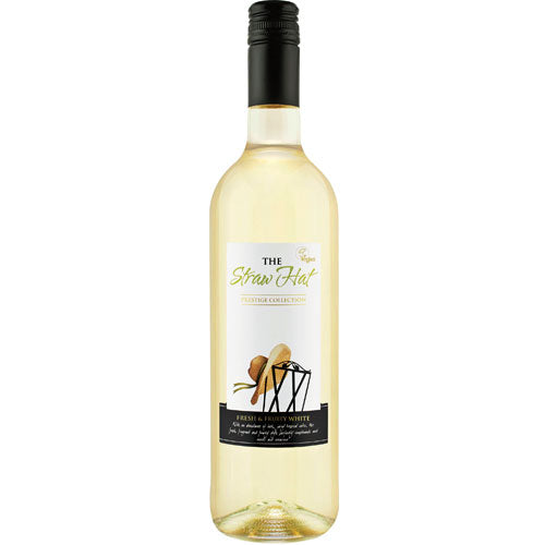 The Straw Hat White Wine 75cl
