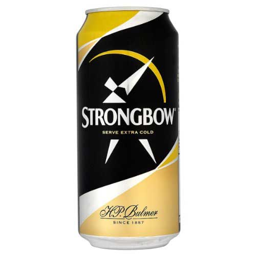 Strongbow Cider 24 x568ml Cans 5.0%abv