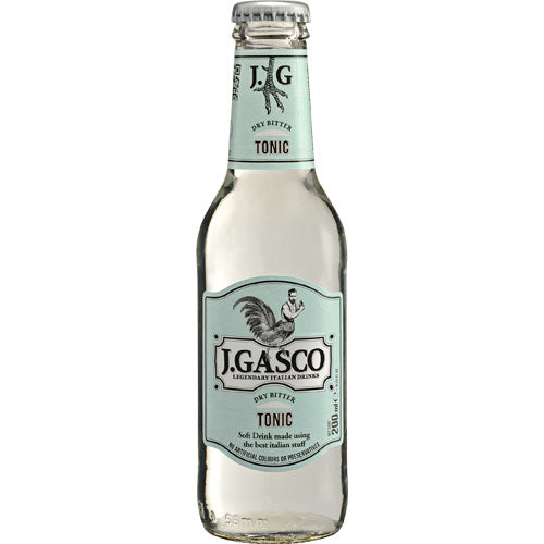 J.Gasco Premium Tonic Water 24 x200ml