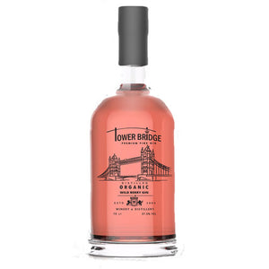 Tower Bridge Organic Wild Berry Gin 70cl