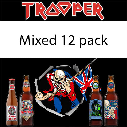 Iron Maiden Trooper Beer Mixed 12 Pack (9x500ml & 3x330ml)
