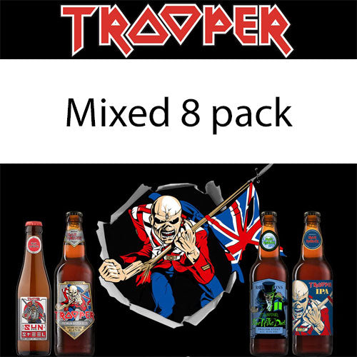 Iron Maiden Trooper Beer Mixed 8 Pack (6x500ml & 2x330ml)
