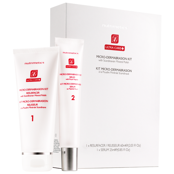 NEW Ultra Care+ Micro Dermabrasion Kit 1 x 60ml, 1 x 25ml