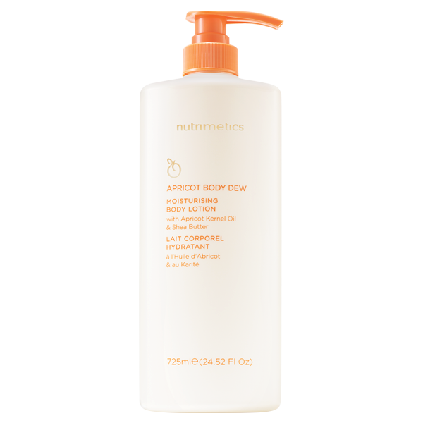 Nutrimetics Apricot Body Dew Pump 725ml