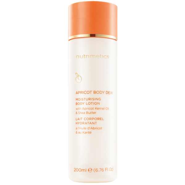 Nutrimetics Apricot Body Dew 200ml