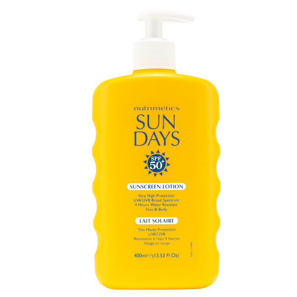 Sun Days SPF 50+ Sunscreen Lotion 400ml