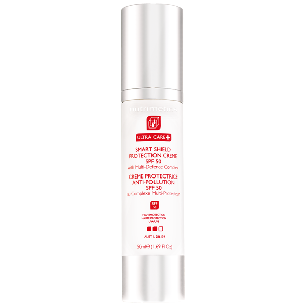 NEW Ultra Care+ Smart Shield Protection Creme SPF 50 50ml