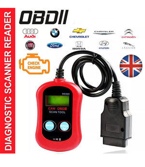 OBD 2 OBD2 Car Engine Fault Diagnostic Code Reader Scanner Reset Tool