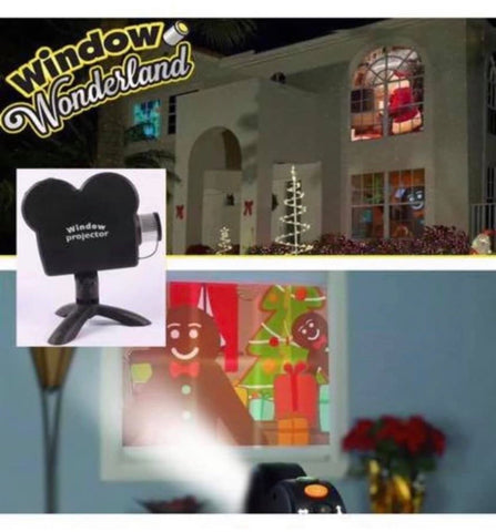Image of Halloween Christmas Projector Projection Movies Display