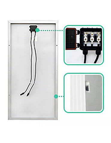 Image of Solar Panel Kit 150W 12V Mono w/ 20A  Controller