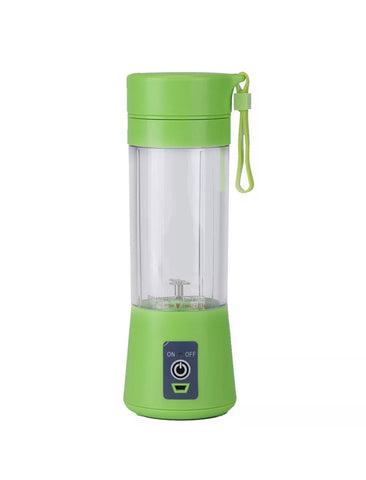 Image of 380ml USB Electric Fruit Juicer Smoothie Maker Blender Shaker Bottle Portable UK