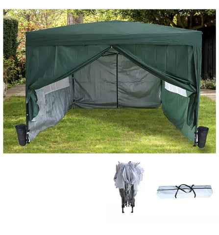 3 x 3 m Pop up Waterproof Outdoor Garden Marquee Canopy
