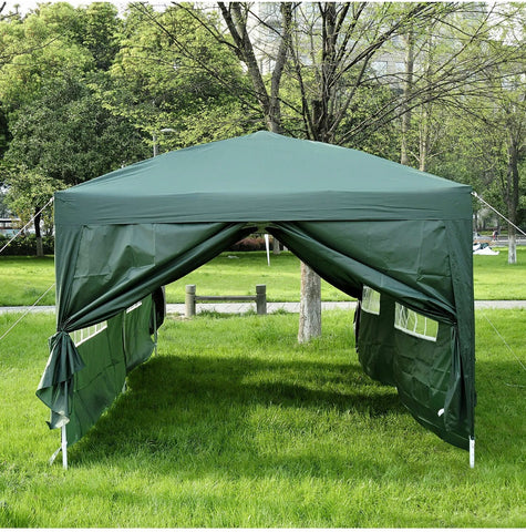 Image of Heavy Duty 6m x 3m Waterproof Pop Up Marquee Gazebo