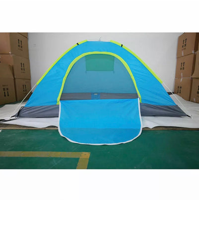 Brand New 2 Man Quick Pop Up Tent Waterproof Camping Festival Beach