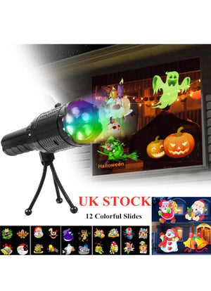 LED Laser Projector Light Halloween Christmas