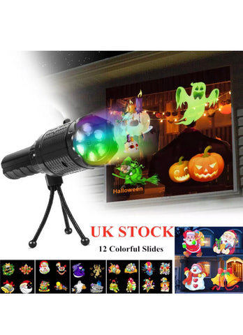 Image of LED Laser Projector Light Halloween Christmas