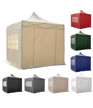 3x3m Pop Up Waterproof Marquee Gazebo Tent FREE Leg Weights & Carry Bag