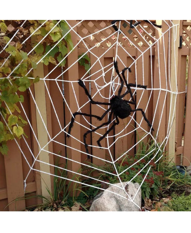 Image of ⭐️Brand New 6.5FT / 2M Large Black Spider Halloween Decoration Haunted House
