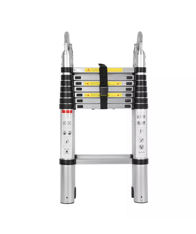 5m Aluminum Alloy Ladder Multi-Purpose Climb Telescopic Extendable Step