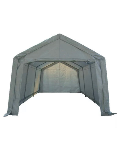 Heavy Duty Portable Garage Carport Marquee Shelter 3m x 6m Galvanised Frame