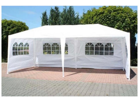 Marquee 3m x 6m With Support Beam In White