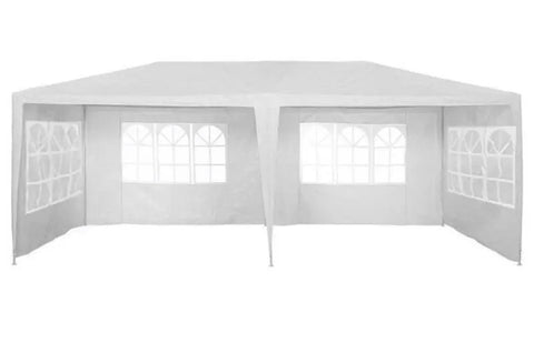 Image of Marquee 3m x 6m With Support Beam In White