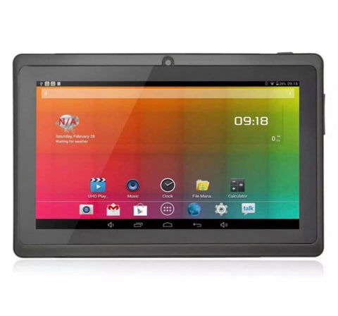 Image of 7 Inch Android Tablet 8GB Quad Core 4.4 Dual Camera Bluetooth Wifi