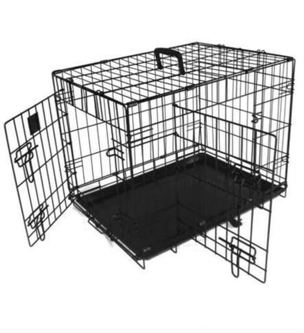 "Image of Extra Large 42"" Folding Dog Cage / Dog Crate / Puppy Cage"