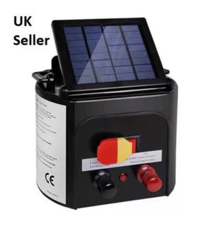 5km Solar Power Electric Fence Energiser With Built In Battery
