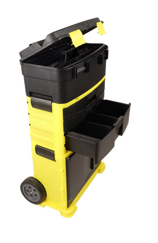 Image of Brand New Portable Tool Box Organiser Heavy Duty Trolley Tool Was £69.99 now £50