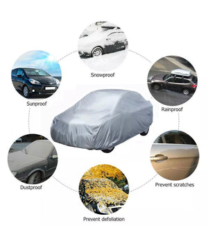 Heavy Duty Breathable Waterproof UV Protection Large Car Cover