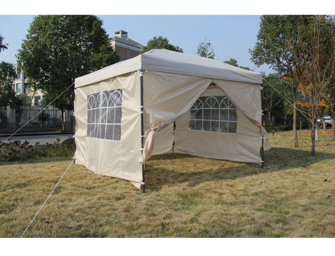 Image of Heavy Duty Pop Up Marquee Gazebo 3x3m Various Colours