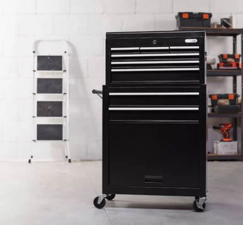 Image of Large Tool Chest Cabinet On Wheels Delivery 2 Year Warranty