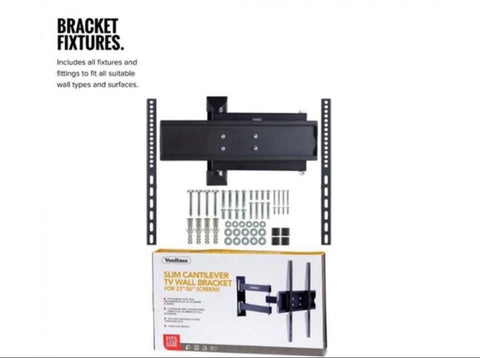 "Image of 23-56"" Tilt & Swivel TV bracket was £40 now £25"