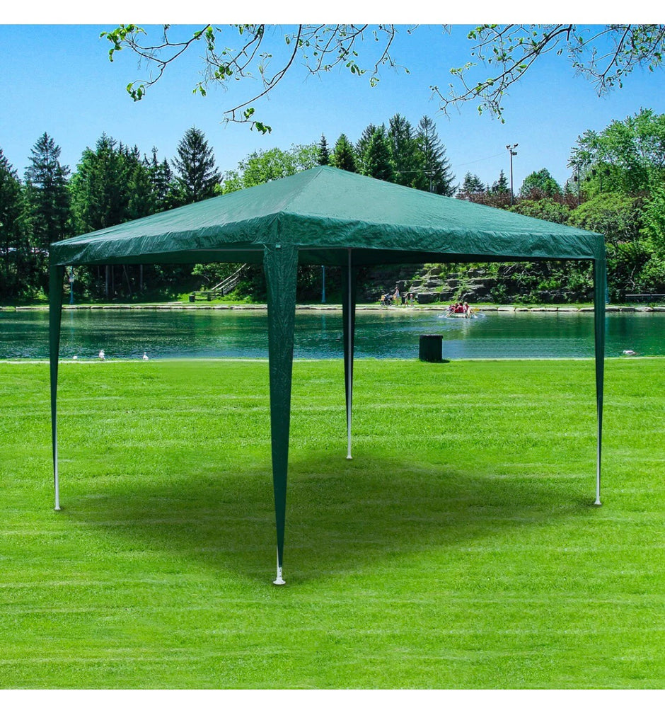 3MX3M WATERPROOF GAZEBO MARQUEE CANOPY GARDEN TENT WAS £60