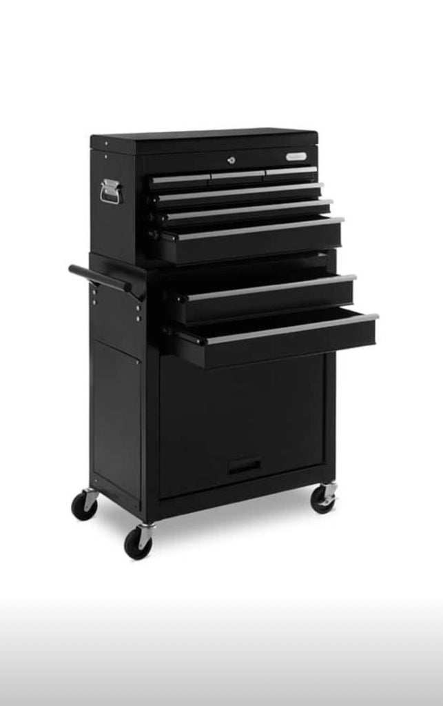 Large Tool Chest Cabinet On Wheels Delivery 2 Year Warranty