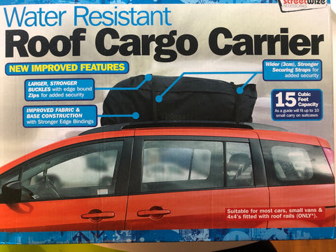 458L Car Roof Bag Top Box Touring Travel Rack Holdall Cargo Pack Luggage