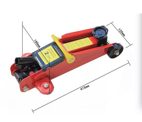 Image of 2 Tonn Hydraulic Car Jack Trolley For Car & Van