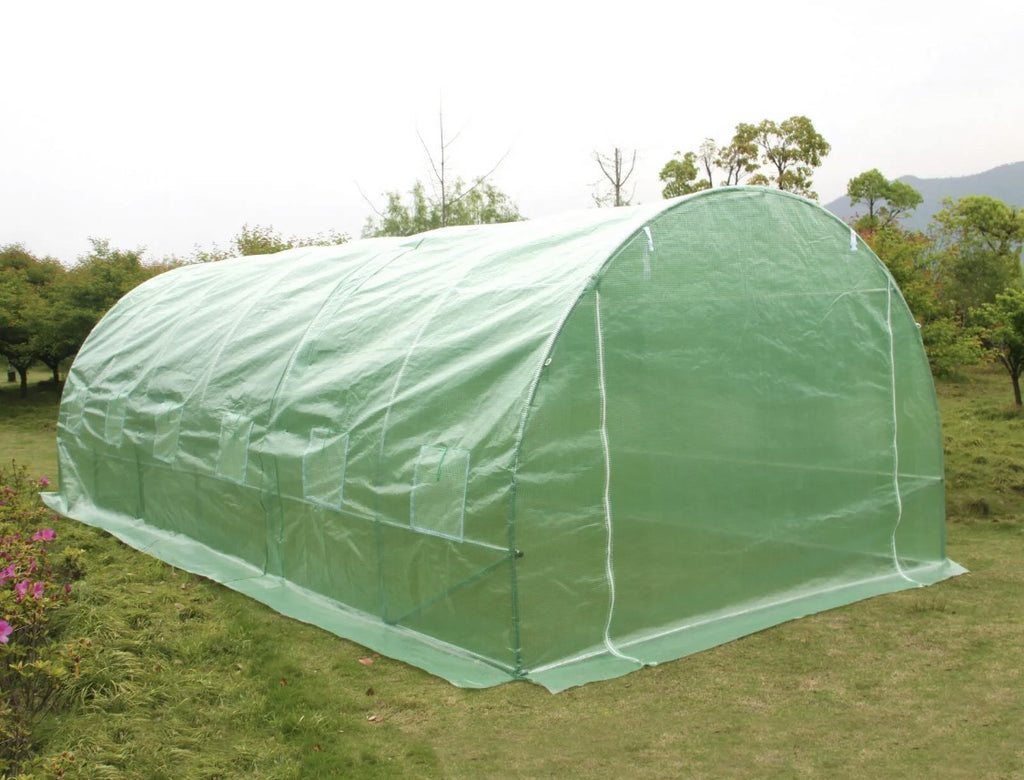 6m x 3m Polytunnel Greenhouse Garden Tent Pollytunnel