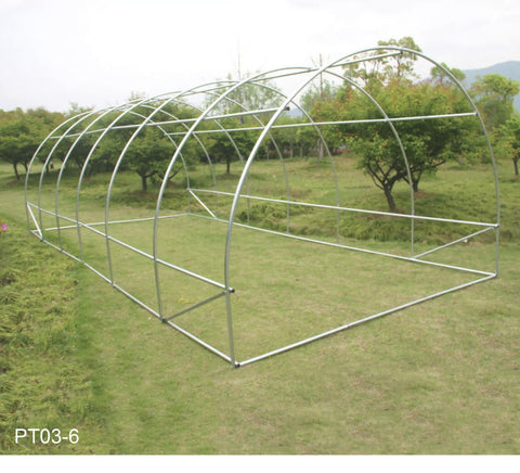Image of 6m x 3m Polytunnel Greenhouse Garden Tent Pollytunnel